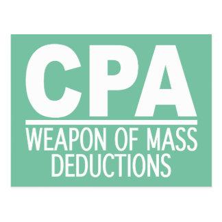 CPA custom color postcard