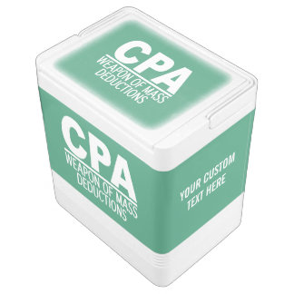 CPA custom color & text cooler Igloo Cool Box