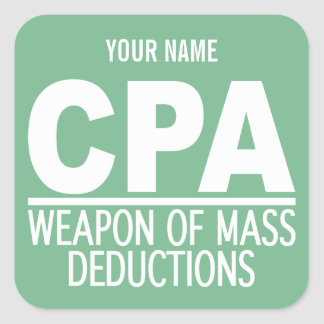 CPA custom name & color stickers