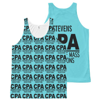 CPA custom name & color tanktop All-Over Print Tank Top