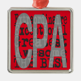 CPA Extraordinaire Christmas Ornament