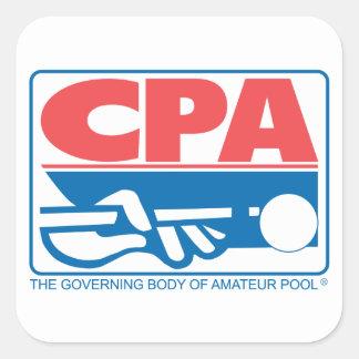 CPA Logo Square Sticker