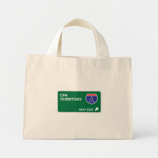 CPA Next Exit Mini Tote Bag