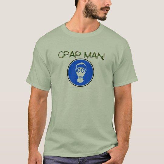 """CPAP MAN! AKA HOSE NOSE!"" T-Shirt"