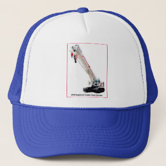 CPCS Registered Telescopic Crawler Crane Operator Trucker Hat