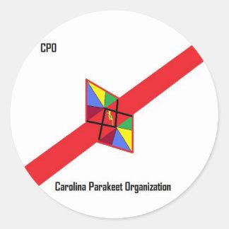 CPO Flag Sticker