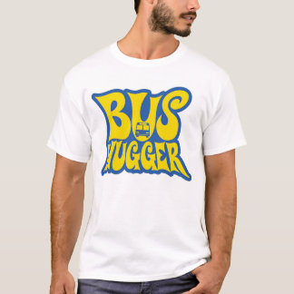 CPT Bus Hugger with yellow text T-Shirt