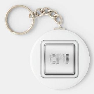 CPU BASIC ROUND BUTTON KEY RING