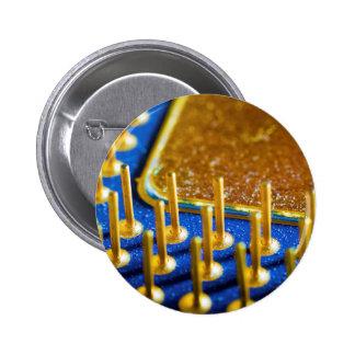 CPU Macro 6 Cm Round Badge