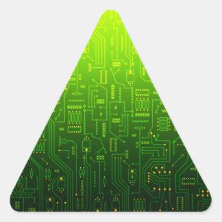 cpu triangle triangle sticker