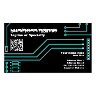 cpu v.3 with qr code business card templates
