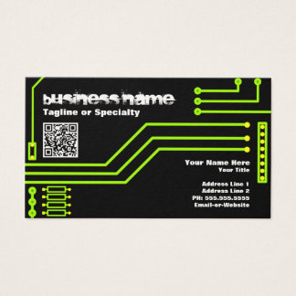 cpu v.3 with qr code business card