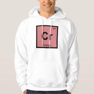 Cr - Cronus Titan Chemistry Periodic Table Symbol Hoodie