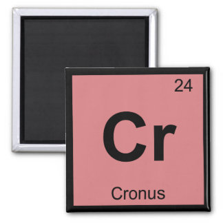Cr - Cronus Titan Chemistry Periodic Table Symbol Refrigerator Magnets