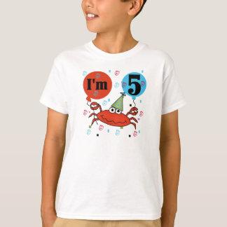 Crab 5th Birthday T-Shirt