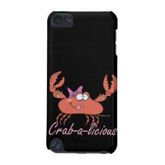 crab-a-licious cute girl crab cartoon iPod touch (5th generation) cases