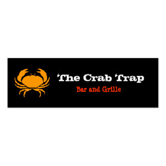 Crab and Seafood Restaurants Business Card