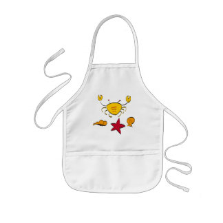 Crab and Shell Kids Apron