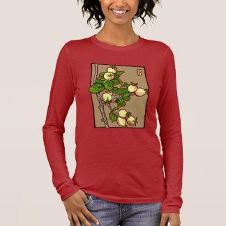 Crab Apple Block Print Long Sleeve T-Shirt