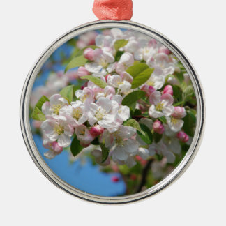 Crab apple blossom christmas ornament