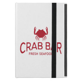 Crab Bar Fresh Seafood Logo iPad Mini Case