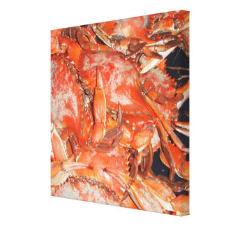 Crab Boil Canvas Prints