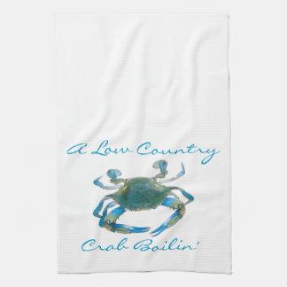 Crab Boil Kitchen Towel