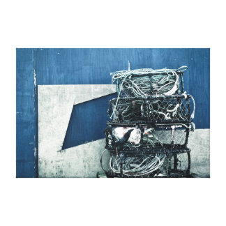 Crab cages gallery wrap canvas