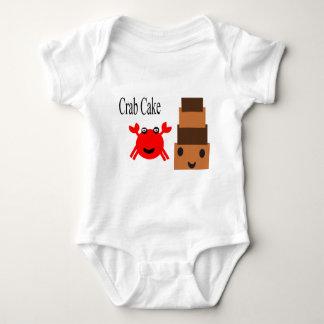 Crab Cake cuttie Baby Bodysuit