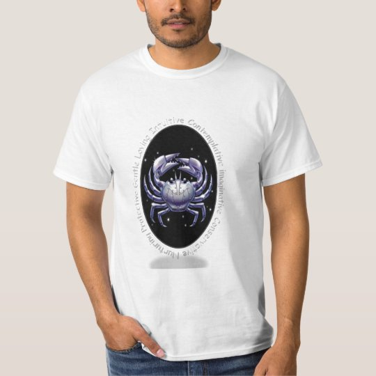 Crab Cancer Zodiac T-Shirt