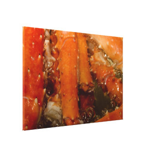 Crab Stretched Canvas Prints