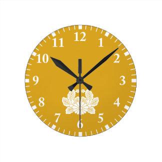 Crab chrysanthemum (crest 之 spring) round clock