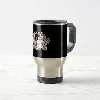 Crab chrysanthemum (crest 之 spring) travel mug