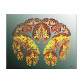 Crab Claws - Digital Wall Art by Rybird Canvas Print