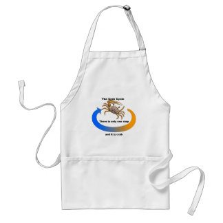 Crab Cycle Adult Apron