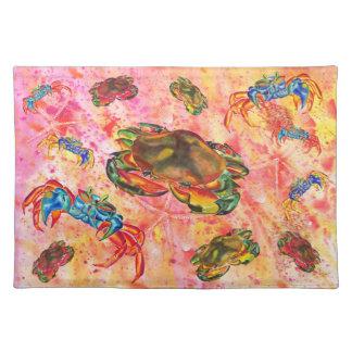 Crab design place mat