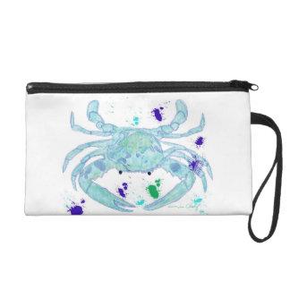 Crab design wristlet. wristlet