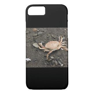 Crab Digital Art iphone case