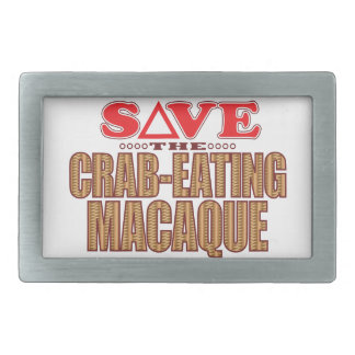 Crab-Eating Macaque Save Belt Buckles