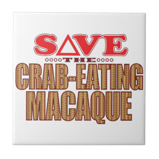 Crab-Eating Macaque Save Tile