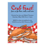 Crab Feast Invitations