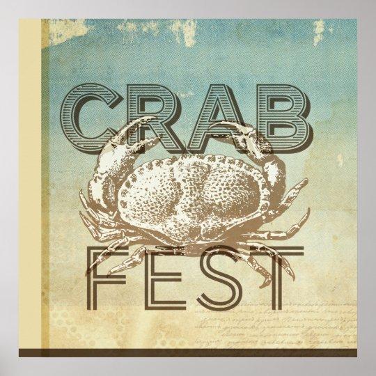 Crab Fest Poster