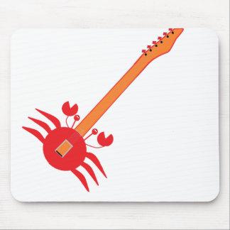 Crab Guitar Mouse Mat
