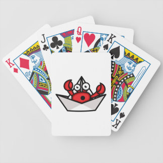Crab Hermit Bicycle Playing Cards