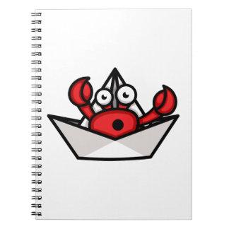 Crab Hermit Notebook