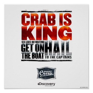 Crab is King Poster