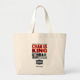 Crab is King Tote Bag