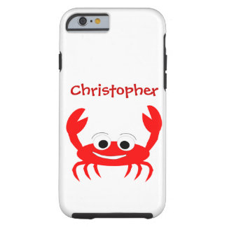 Crab Just Add Name Tough iPhone 6 Case
