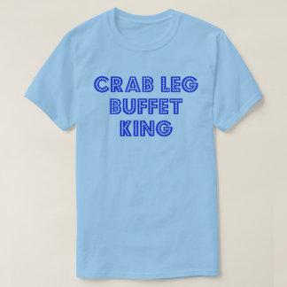 Crab Leg Buffet King T Shirts