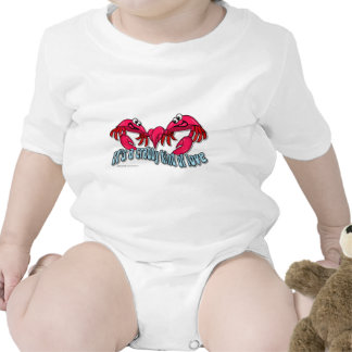 Crab Love Baby Bodysuits